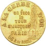 Token - Bijouterie A la Gerbe d'Or (Paris) – obverse