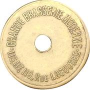 5 Centimes - Grande Brasserie Moderne (Paris) – obverse