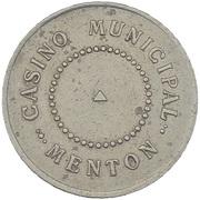 Token - Casino Municipal (Menton) – obverse