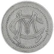Token - Casino Municipal (Menton) – reverse