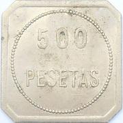 500 Pesetas - CN – obverse