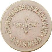10 Centimes - Carrièeres du Hainaut (Soignies) – obverse