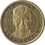 Token - Foot Magazine (World Cup'94 - Marc Degryse) – obverse