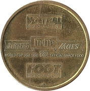 Token - Foot Magazine (World Cup'94 - Marc Degryse) – reverse