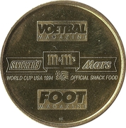 Token - Foot Magazine (World Cup'94 - Alex Czerniatynski) – reverse