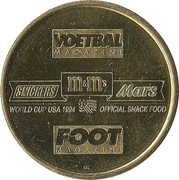 Token - Foot Magazine (World Cup'94 - Rudy Smidts) – reverse