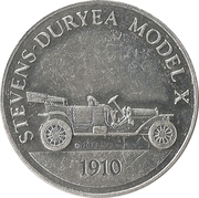 Sunoco Antique Car Coin - Series 2 (Stevens-Duryea Model X) – obverse