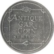 Sunoco Antique Car Coin - Series 2 (Stevens-Duryea Model X) – reverse