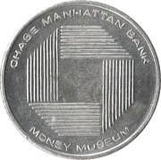 Token - Chase Manhattan Bank Money Museum – obverse
