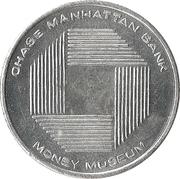Token - Chase Manhattan Bank Money Museum – obverse