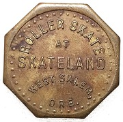 10 Cents - Skateland (West Salem,  Oregon) – obverse