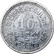 10 Cents - R. Stoughton (Prescott,  Arizona) – reverse