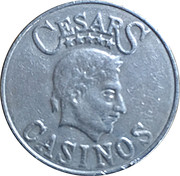 Token - Cesars Casinos – reverse