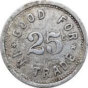 25 Cents - Johnson Purkerson – reverse