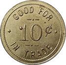 10 Cents - Peters, Backeburg & Co. (Staplehurst, Nebraska) – reverse