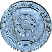 Token - The Douglas Mark Lodge – obverse