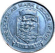 Token - The Douglas Mark Lodge – reverse