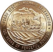 50 Cents - Perry Sesquicentennial Celebration (Erie, Pennsylvania) – obverse