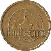 Token - Kings City (Eilat) – reverse