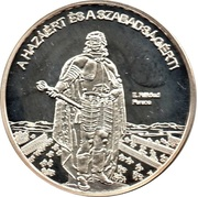 Token - Greats of our nation (Ferenc Rakoczi II.) – obverse