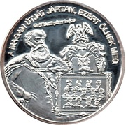 Token - Greats of our nation (Count Lajos Batthyány) – obverse