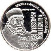 Token - Greats of our nation (Istvan Bathory) – obverse