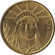 1 Dollar (Statue of Liberty) – obverse
