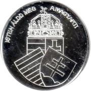 Token - Greats of our nation (King Matthias I) – reverse