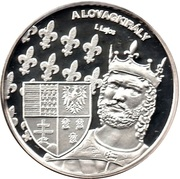 Token - Greats of our nation (Louis I of Hungary) – obverse