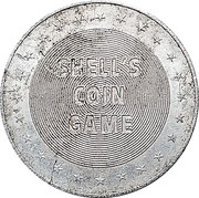 Token - Shell's States of the Union Coin Game, Version 1 (Georgia) – reverse