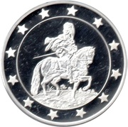 Token - 25 Countries of EU (Knight) – obverse