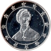 Token - 25 Countries of EU (Sandor Petofi) – obverse