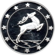 Token - 25 Countries of EU (Mythical deer) – obverse