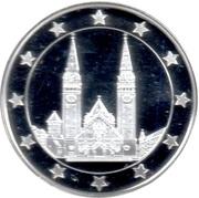 Token - 25 Countries of EU (Votive Church of Szeged) – obverse