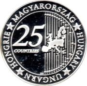 Token - 25 Countries of EU (Votive Church of Szeged) – reverse