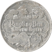 Token - 25 Countries (Patrona Hungariae) – obverse