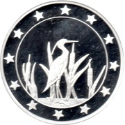 Token - 25 Countries (Heron) – obverse