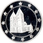 Token - 25 Countries (Abbey church of St George Ják) – obverse