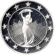 Token - 25 Countries (Liberty Statue) – obverse