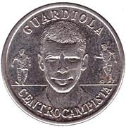 Token - RFEF Medallas de la Seleccion (Guardiola) – obverse