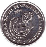 Token - RFEF Medallas de la Seleccion (Raul) – reverse