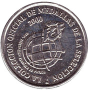 Token - RFEF Medallas de la Seleccion (Mendieta) – reverse
