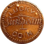 Lucky Coin - Sunbeam – obverse