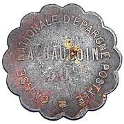 30 Centimes - Caisse Nationale d'Epargne Postale (Paris) – obverse