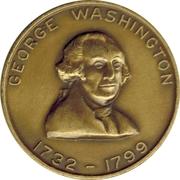 Token - George Washington – obverse