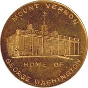 Token - George Washington Bicentennial – reverse