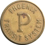 1 Student Fare - Phoenix Transit System – obverse