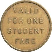 1 Student Fare - Phoenix Transit System – reverse