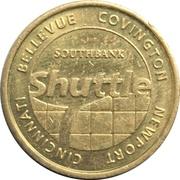 1 Fare - Southbank Shuttle (Covington, Kentucky) – obverse