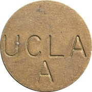 Parking Token - UCLA A (Los Angeles, California) – obverse